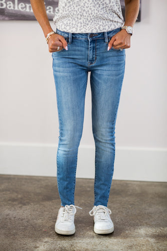 Christine Higher Mid-Rise Jeans