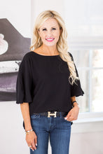 Fenella Top- Black
