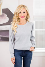 Sutton Sweater- Grey