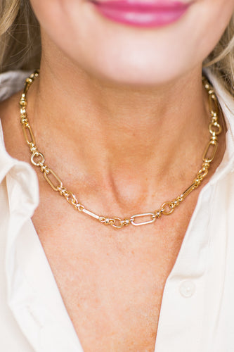 Paula Chain Necklace