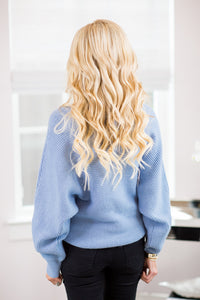 Vanessa Sweater- Blue