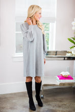 Caroline Dress- Heather Gray