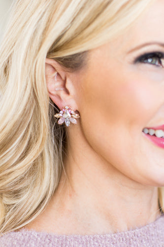 Jane Crystal Multi Earring