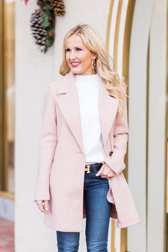 Antionette Coat- Blush