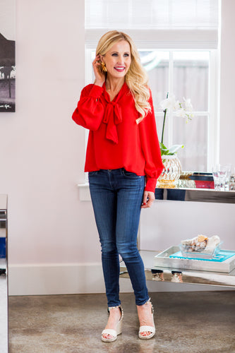 Merissa Top- Red