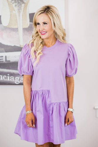 Kailey Dress- Lilac
