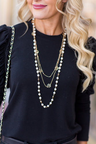 Coco Pearl Necklace