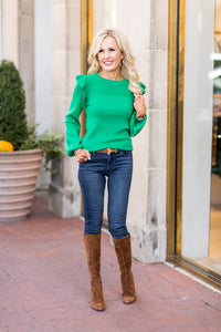 Randi Sweater- Green