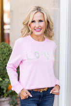 Fran LOVE Sweatshirt- Pink