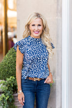 Adrianna Top- Blue
