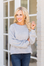 Kat Top Thermal- Heather Gray