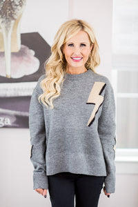 Bree Sweater- Gray