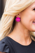 Daisy Flower Earring- Pink