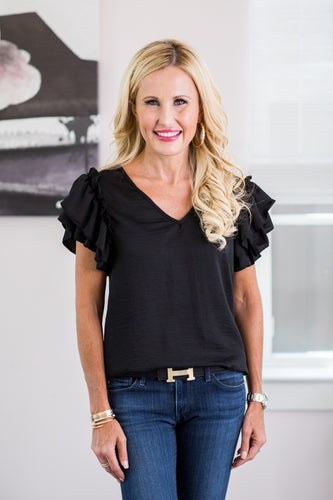 Kameron Top- Black