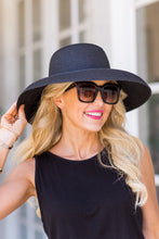 Hamptons Hat - Black