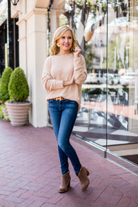 Noelle Sweater- Camel