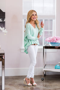 Mia Top- Mint