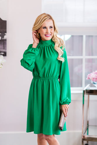 Ramsey Dress- Green