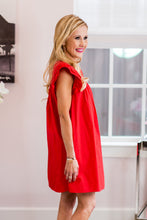 Hailey Dress- Red