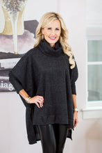 Christy Top- Charcoal
