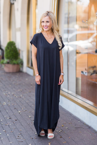 Gloria Dress- Black