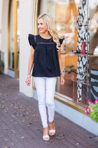 Hailey Top- Black