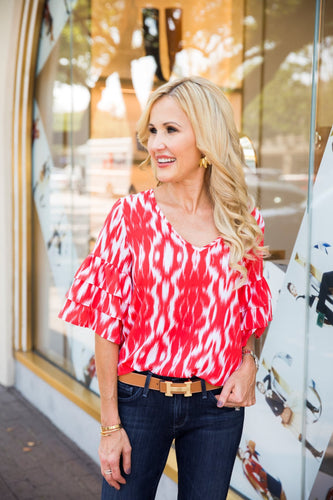 Cynthia Top- Red