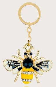 """Gucci"" Bee Keychain / Bag Charm"