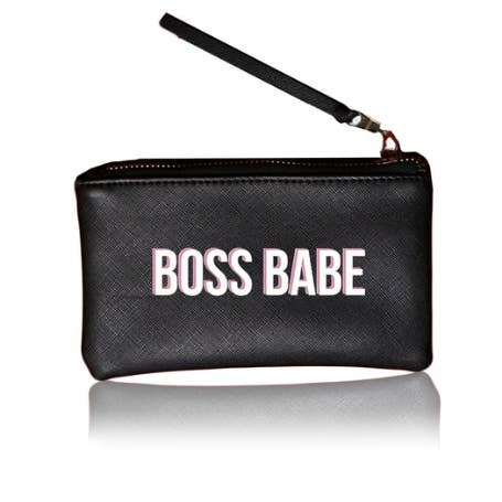 Boss Babe Pouch- Black