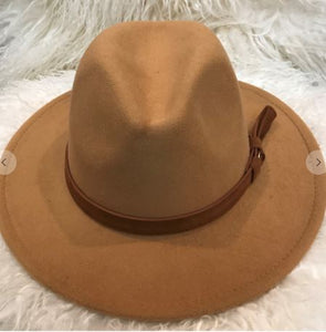 Carrington Hat- Camel