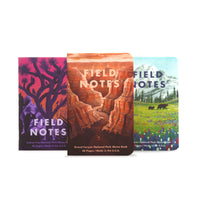 National Parks Field Notes Series B 3-Pack