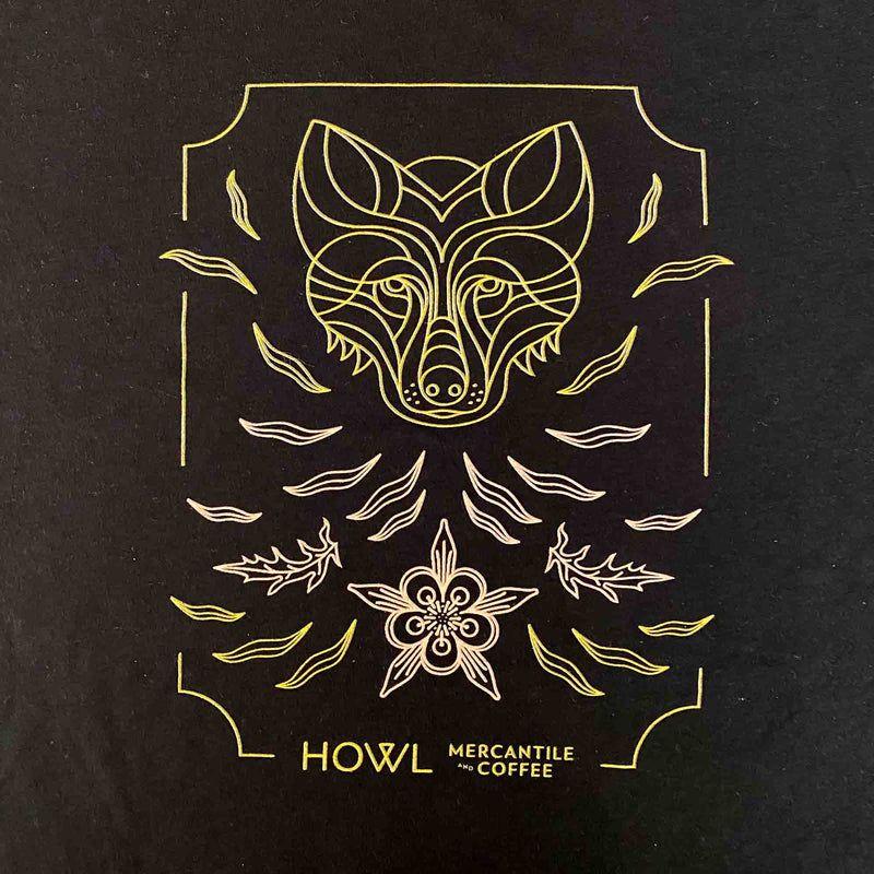 Howl Black Logo T-Shirt - Short Sleeved