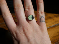 Young In The Mountains : Gold Circle Ring