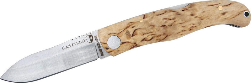 Castillo Murala Curly Birch Folding Knife
