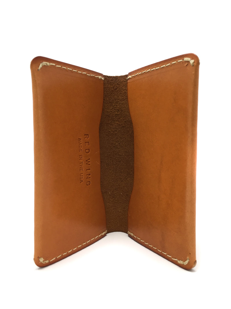 "Redwing ""Folded Card Holder"" London Tan"