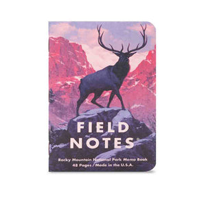 National Parks Field Notes Series C 3-Pack