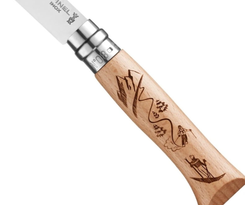 Opinel No.8 Alpine Adventure - Skiing Knife