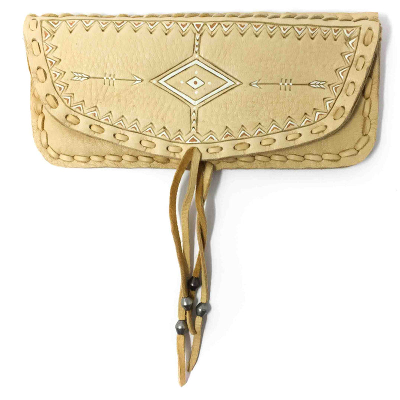 "Three Arrows ""Thunder Pouch Wallet - Bone"""