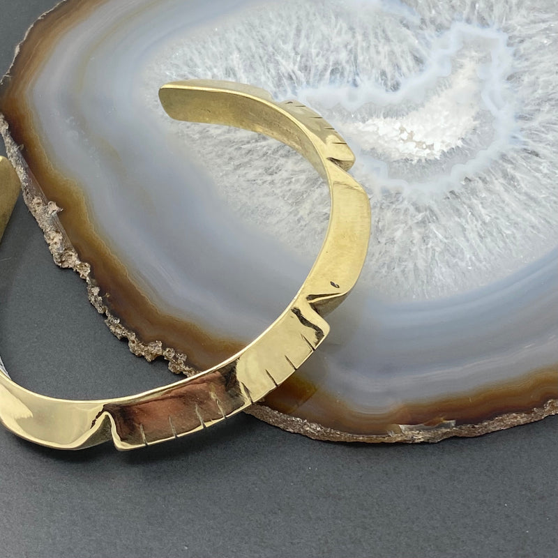 Young in the Mountains : Grande Helena Brass Cuff