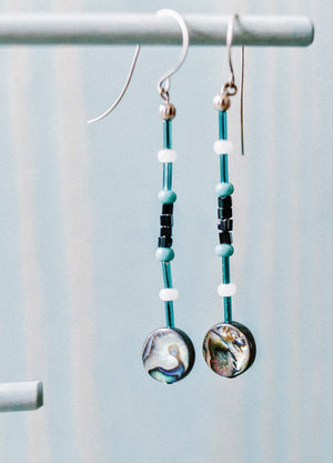 Native Works : Chief Seattle Club Earring