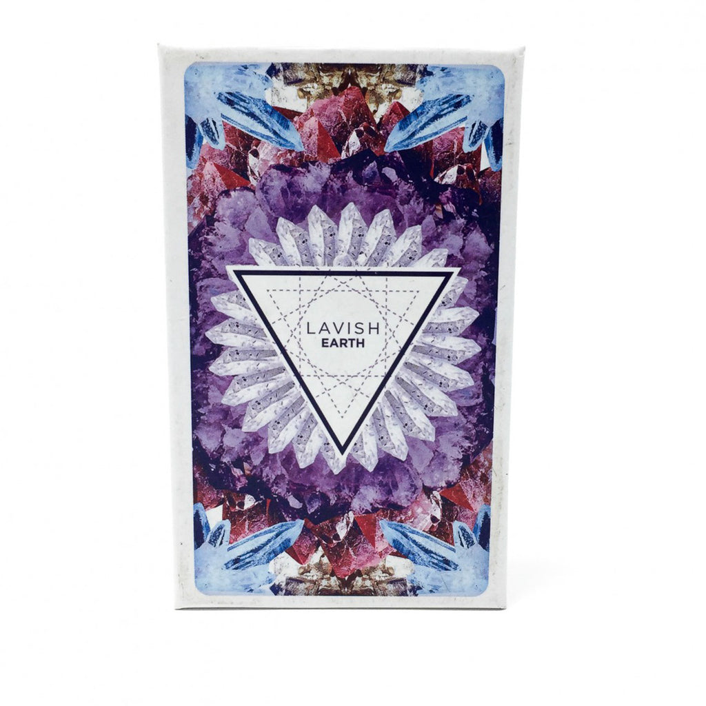 Lavish Earth Crystal Affirmation Card Deck