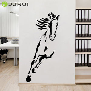 Animal Running Horse Wall Decal Living Room Bedroom