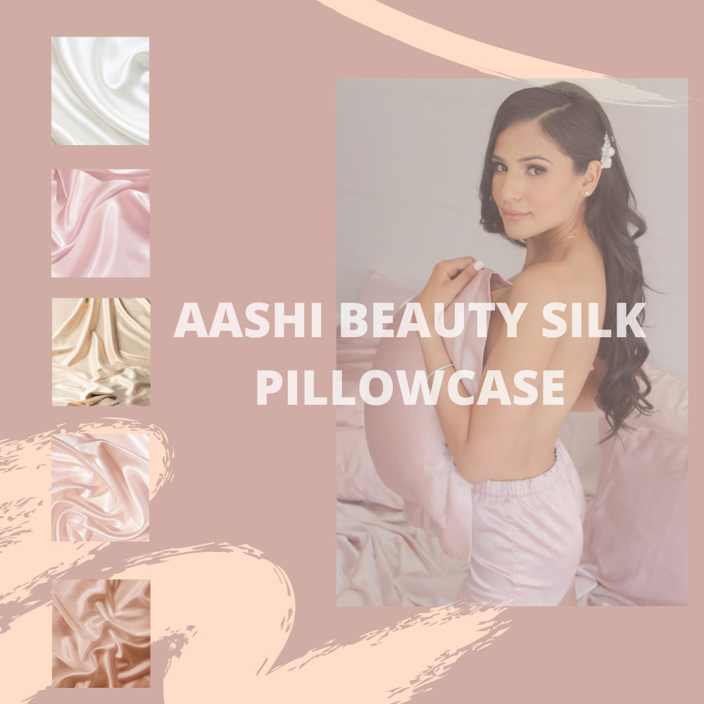Aashi Beauty Silk Pillowcase