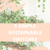 5 Simple Sustainable Switches