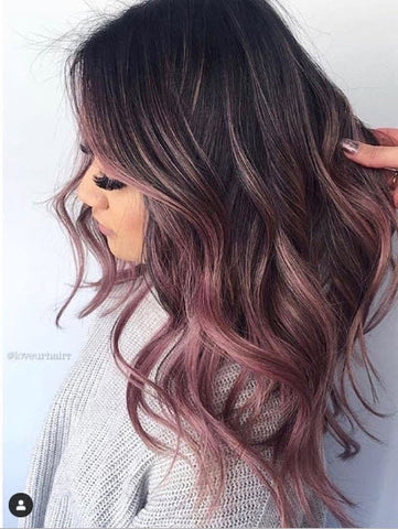 purple hair colour