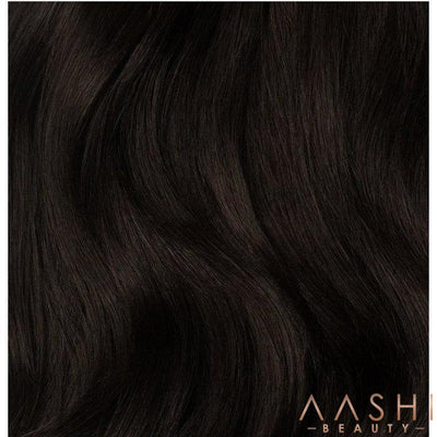 Espresso Hair Extensions (#1C) - Aashi Beauty