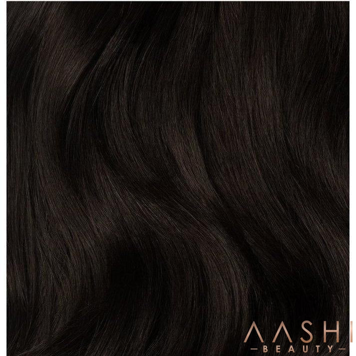 Buy Remy Espresso Hair Extensions (#1C) - Aashi Beauty