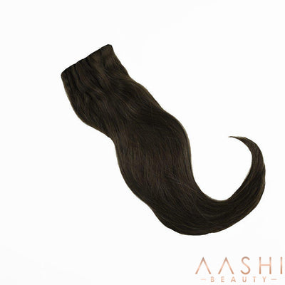 Chocolate Brown Hair Extensions (#2) - Aashi Beauty
