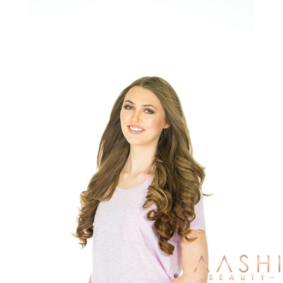 Chestnut Brown Hair Extensions (#8) - Aashi Beauty