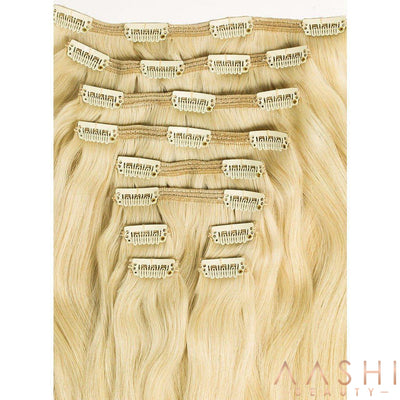 Ash Blonde Hair Extensions (#60) - Aashi Beauty